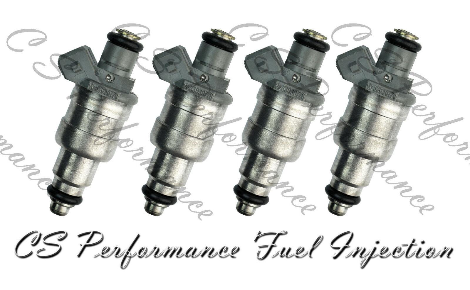OEM Siemens Fuel Injectors Set (4) 53030778 for 1996-2002