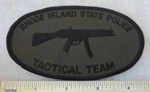 RHODE ISLAND STATE POLICE TACTICAL TEAM PATCH Vintage ORIGINAL