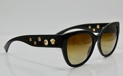 Versace 4314 GB1/T5 Butterfly - Black;Gold/ Brown Polarized - 56mm|18mm|140mm