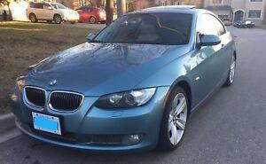 BMW 335i RWD manual Atlantic Blue