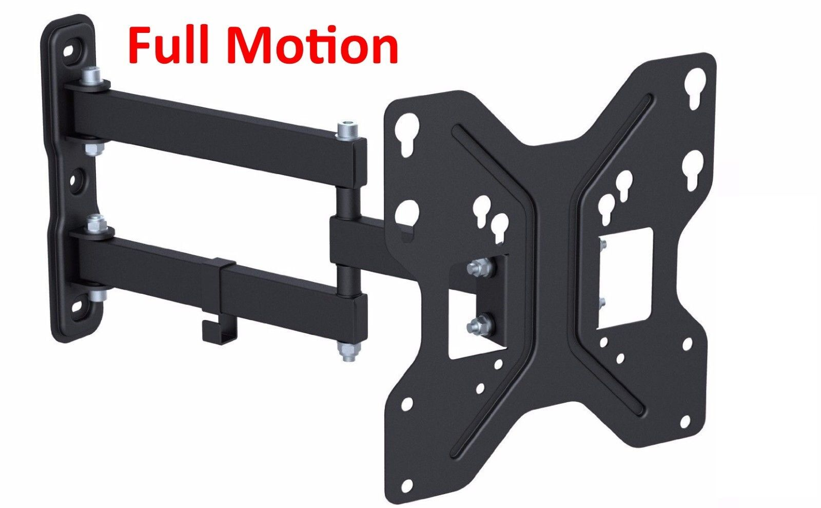 Husky Mount Full Motion TV Wall Mount Bracket Heavy Duty Art