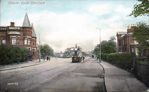 Stretford-Manchester-Chester-Road-50881-by-Valentines-Tram