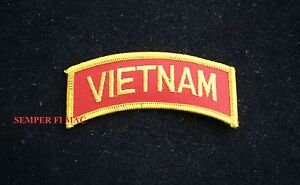 VIETNAM-TAB-NAM-PATCH-US-ARMY-NAVY-AIR-FORCE-COAST-GUARD-MARINES-VETERAN-BIKER