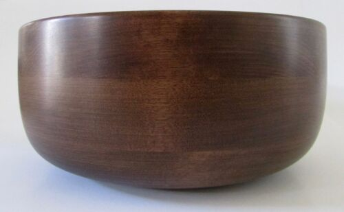 VTG Wodburys of Shelbourne Vermont Hand Turned Walnut Salad Bowl