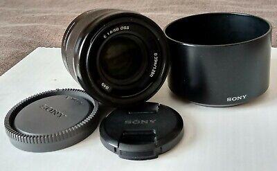 Sony SEL 50 mm F/1.8 E OSS for Sony (APS-C body) - Black