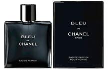CHANEL BLEU DE CHANEL Eau De Parfum Spray FOR MEN 3.4 Oz / 100 ml Authentic, New