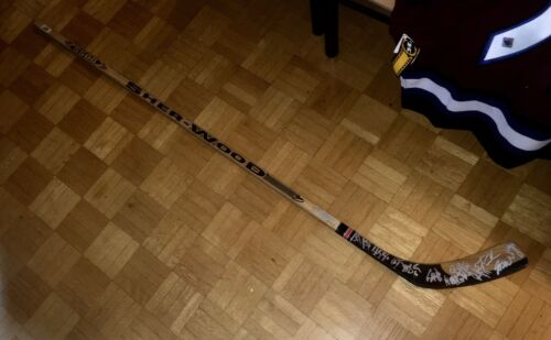 *CHARITY AUCTION* 2003 WASHINGTON CAPITALS Team Signed SHERWOOD 5500 Stick W/Coa
