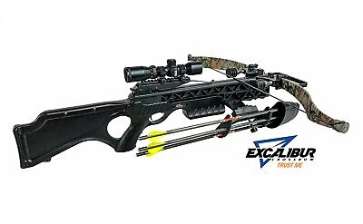 Excalibur Matrix Grizzly BLACK SHADOW NEW  DEADZONE PACKAGE