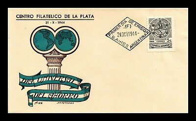 DR JIM STAMPS NATIONAL SAVINGS BANK FIRST DAY ISSUE ARGENTINA COVER