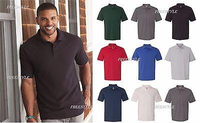 (Hanes - X-Temp Pique Sport Polo Short Sleeve Shirt with Fresh IQ 40+ UPF  055P)