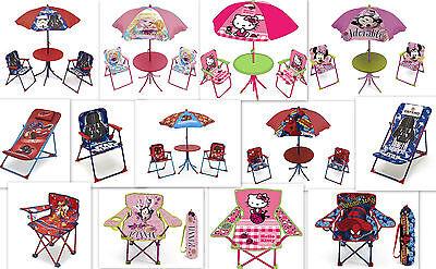 Kinder Gartenmöbel AUSWAHL Gartensitzgruppe Sonnenschirm Kindertisch Tisch Stuhl
