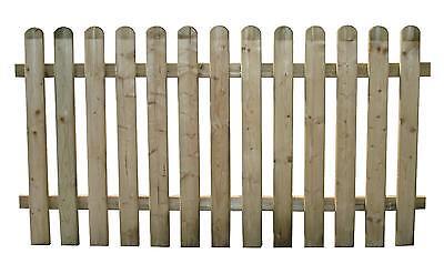 Staccionata rete steccato bordure recinzione legno impregnato LASA Classic