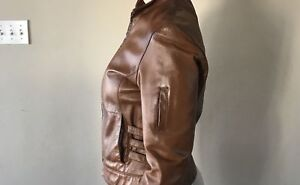 Leather jacket size S