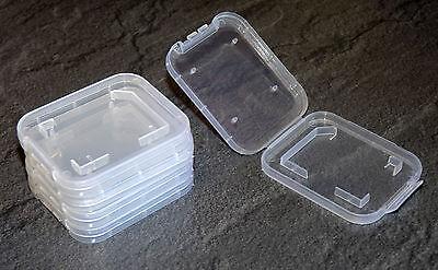 5 Stück SD Box Speicherkarte SDHC ETUI Schutzhülle Hülle Aufbewahrungsbox MMC