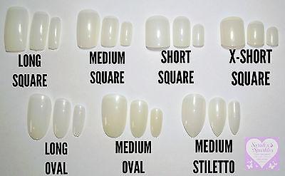 Size Guide For Sarahs Sparkles Nails