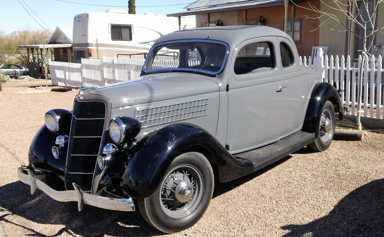 1935 Ford 5 Window Coupe  1935 Ford 5 Window Coupe (Restored)