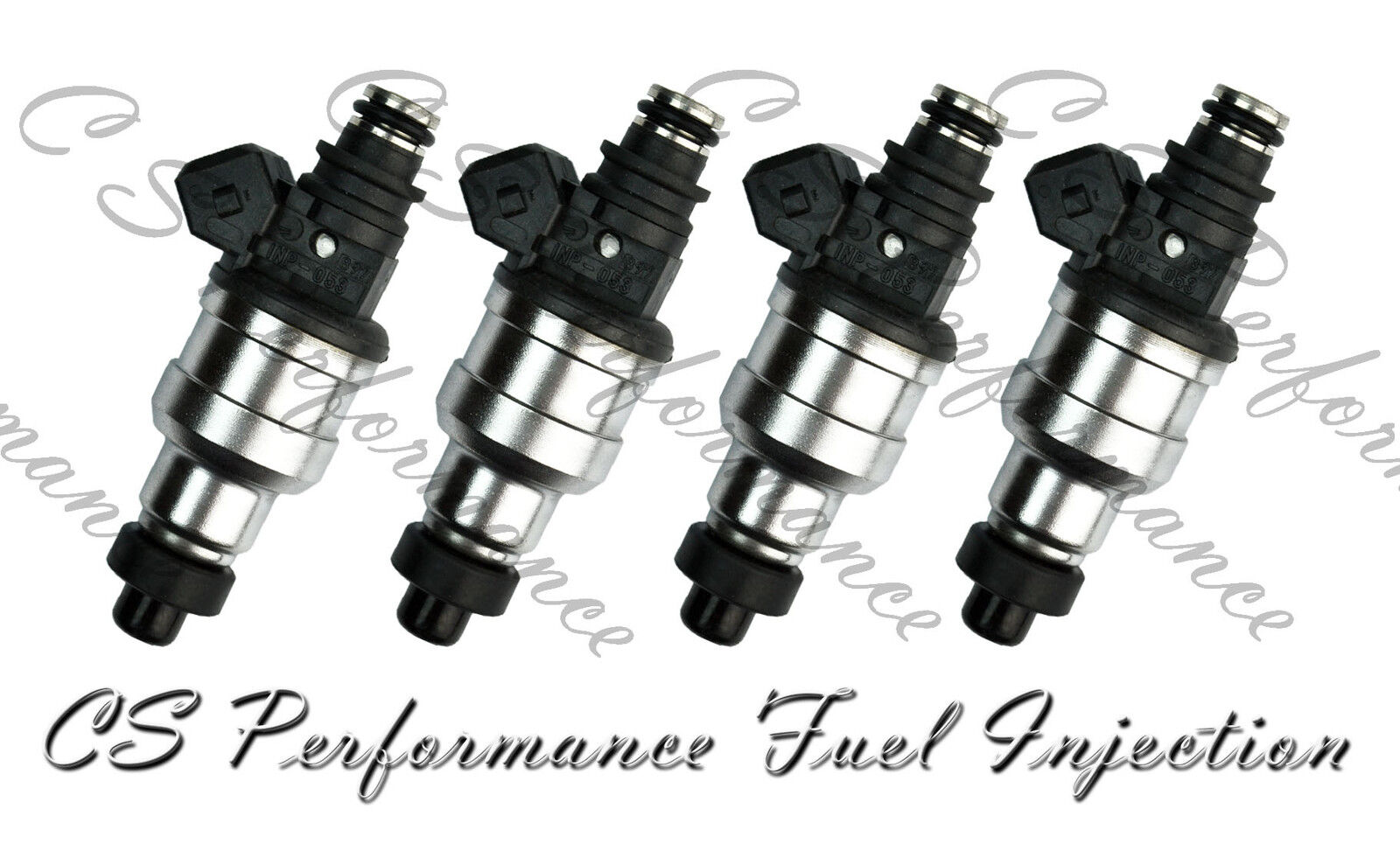 INP-771 Rebuilt by Master ASE Mechanic USA 4 OEM Nikki Fuel Injectors Set