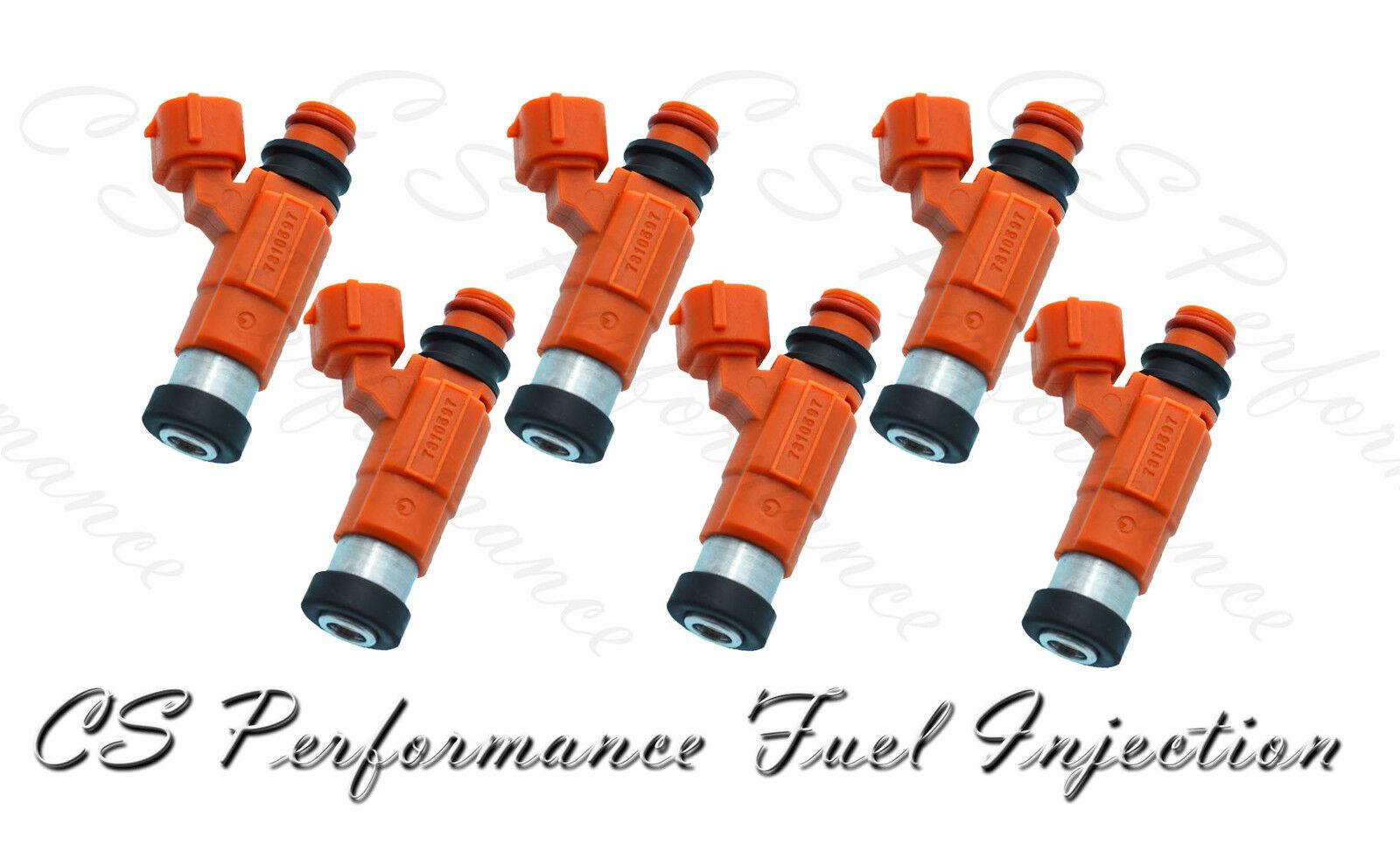 6 INP-010 Rebuilt by Master ASE Mechanic USA OEM Nikki Fuel Injectors Set