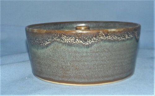 Vintage Latham Studio Pottery/ Bundt Cake Baking Dish/ Stoneware Seagrove, NC
