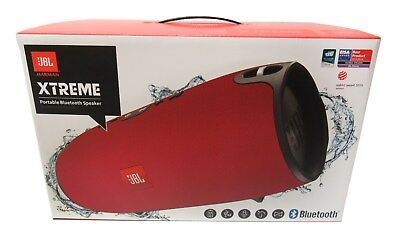 JBL Xtreme Portable Splashproof Wireless Bluetooth Speaker (Red)  *XTREMEREDUS
