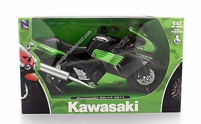 NewRay 2011 Kawasaki ZX-14 1:12 diecast motorcycle Green N31