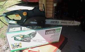 Ozito Electric Chain Saw Woolgoolga Coffs Harbour Area Preview