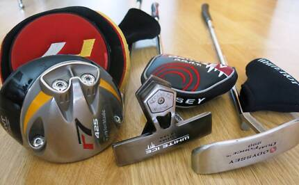 L.H TAYLORMADE R7 Golf Clab and Odyssey putters South Yarra Stonnington Area Preview