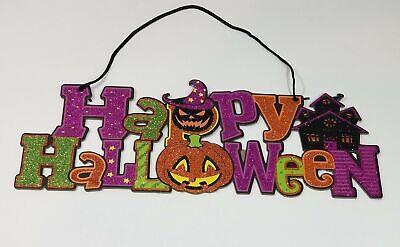 Halloween Wall Hanging (Happy Halloween Decorative Wall)