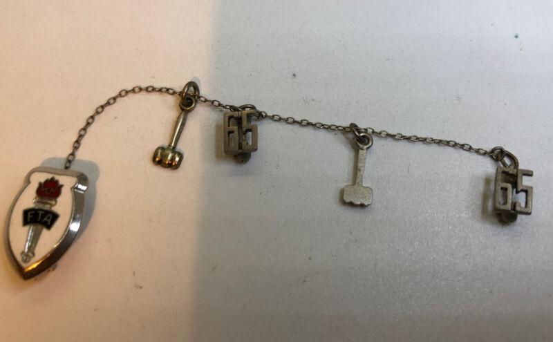 FTA  1965  LGB Sterling Pin