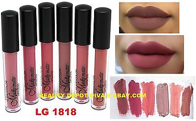 6 Waterproof Long Lasting Makeup Lip Liquid Matte Lipstick Lip Gloss