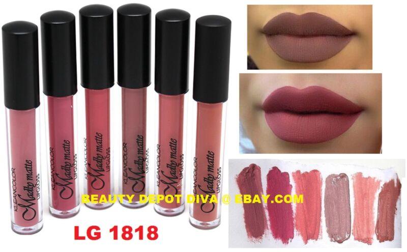 6 Waterproof Long Lasting Makeup Lip Liquid Matte Lipstick Lip Gloss