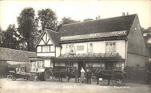 Turnford-The-Bulls-Head-F-H-Barr-Proprietor-Card-by-Davis-Stores-Epping