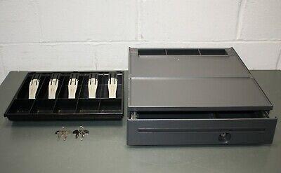 Toshiba Gcs Cash Drawer 40n6755 For Ibm Pos Systems Usb W Keys And Money Tray