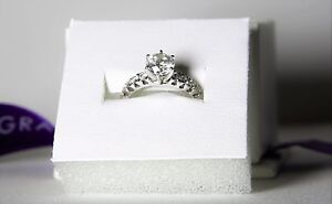 Diamond Ring 1.09CT. Engagement and wedding ring set Norwood Norwood Area Preview