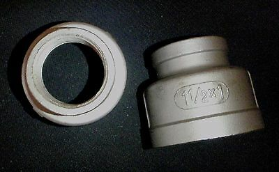 Stainless Steel Reducer Coupling 1 12 X 1 Npt Pipe Rc-150-100