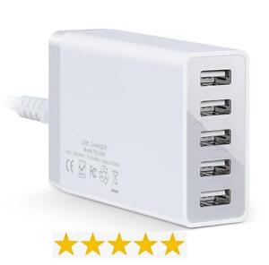 5 High Speed USB Port Charger / USB Charging Hub / USB Charging Station