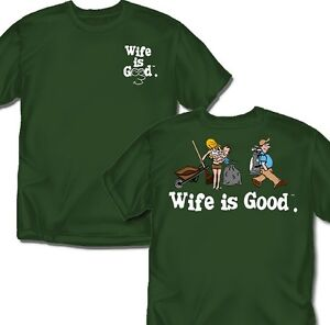 Wife-is-good-Golfing-T-Shirt-Adult-Sizes