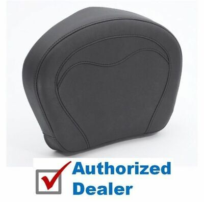 Mustang Wide Passenger Backrest Sissy Bar Pad Seat Saddle Victory Motorcycle
