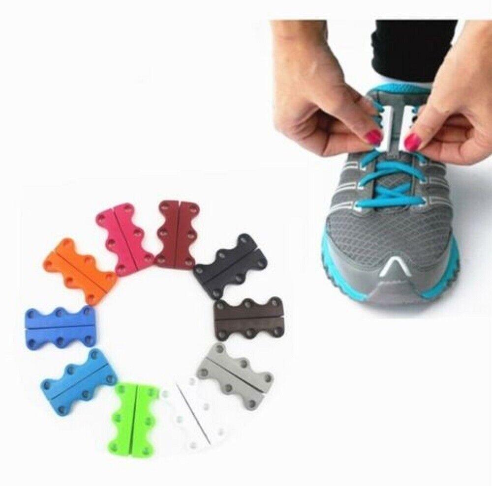 1 Pair Sneaker Magnetic Shoe No Tie Casual Shoe Laces Closure Shoelaces Buckles Clothing & Shoe Care