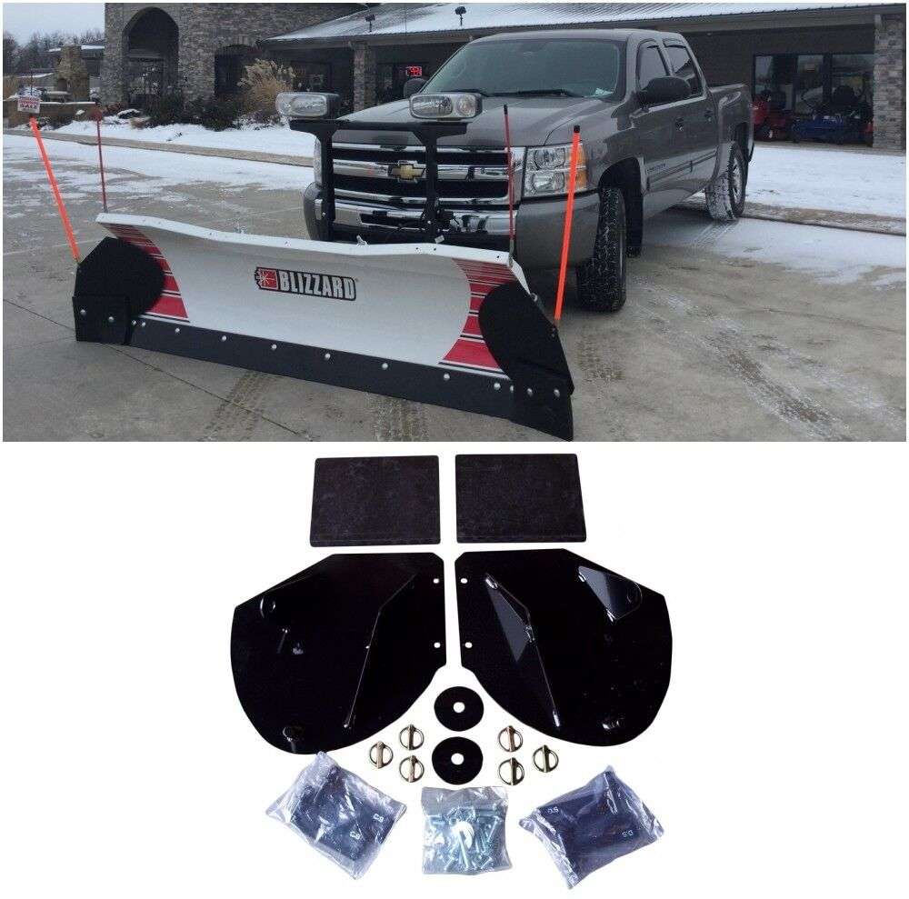 6 Universal SNOWPLOW BLADE MARKER GUIDES for Blizzard B61049 Snow Way 96106696