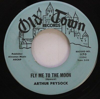 Jazz 45 Arthur Prysock - Fly Me To The Moon / Without The One You Love On Old To Fly Me To The Moon Jazz
