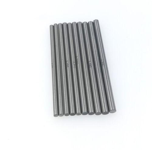 Carbide Plug Pin Gage 2.50mm TO 2.99mm Diameter 50mm Length