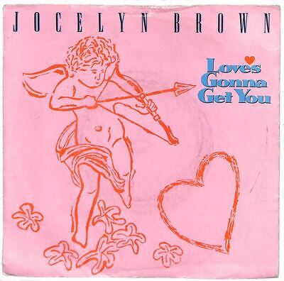 """Jocelyn Brown - Love's Gonna Get You - 7"""" Record Single"""