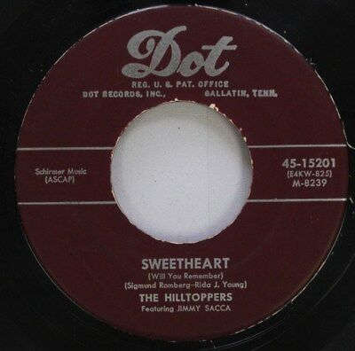 Pop 45 Sweetheart   The Hilltoppers   The Old Cabaret On Dot
