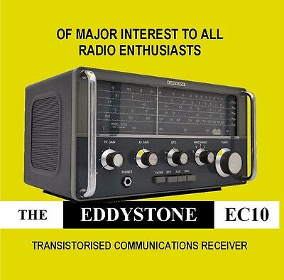 Eddystone EC10 - DVD - HF Communications Receiver Shortwave Radio - DVD
