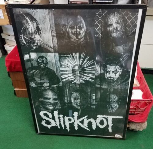 SLIPKNOT POSTER NEW 2014 RARE VINTAGE COLLECTIBLE OOP