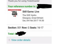 X2 still game tickets.