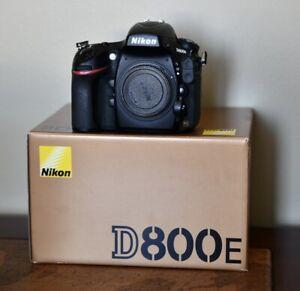 Nikon D800E for sale