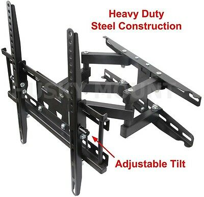 Full Motion TV Wall Mount  VESA Bracket 32 46 50 55 60 inch LED LCD Flat (China Flat)
