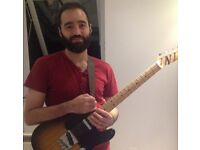 Guitar Lessons, electric or classical, with experienced guitarist